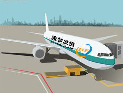 China's domestic aviation agency services 1